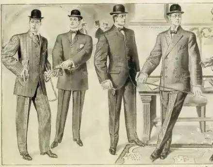 摩登日记|从捕鱼服演变而来的西装