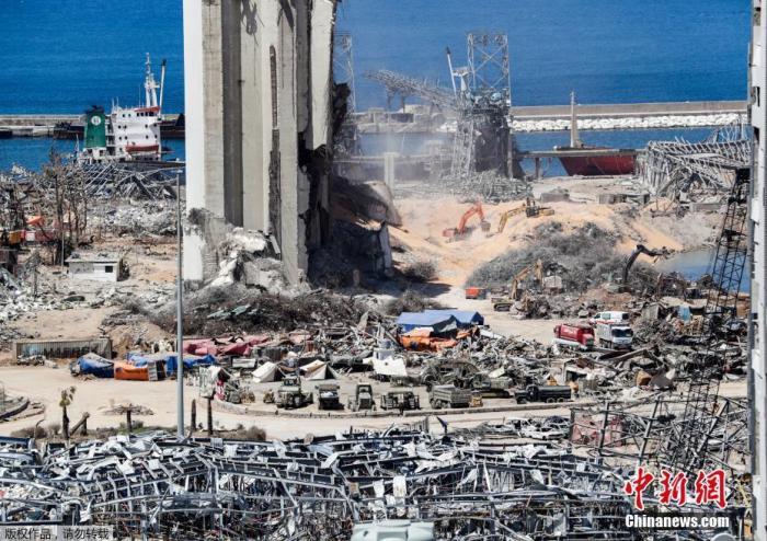 爆炸发生一个月,黎巴嫩贝鲁特港口又发现4吨硝酸铵