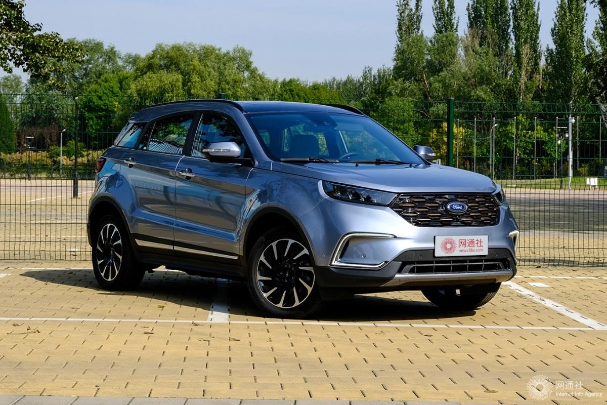江铃福特新款领界EV上市 补贴后售17.98万起