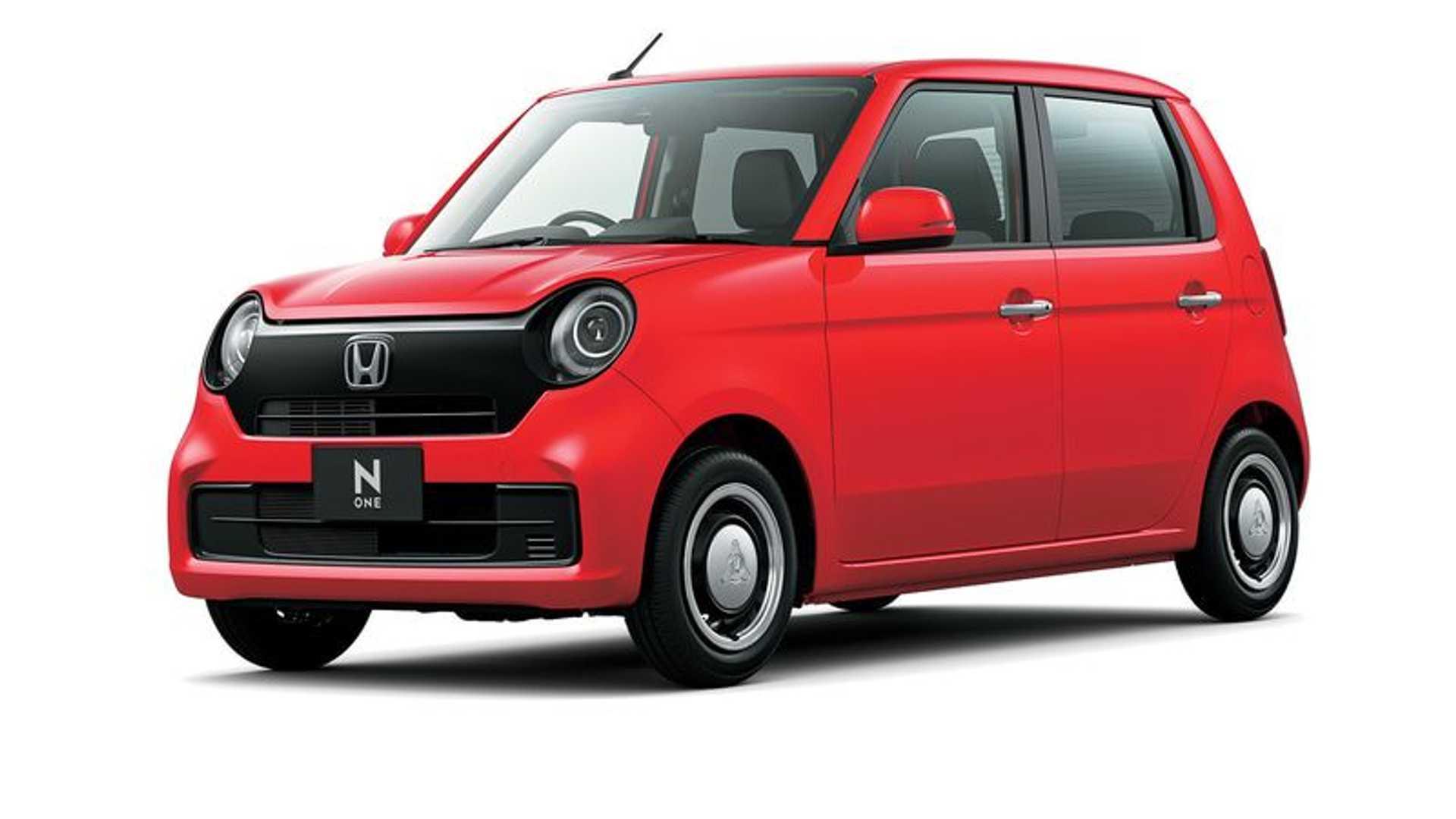 日本经典K-car车型 全新本田N ONE官图发布