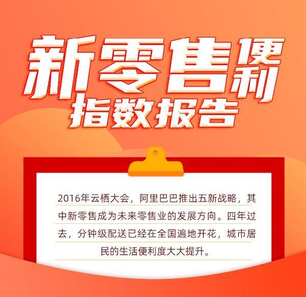 《新零售便利指数报告》:杭州、苏州缘何换道超车?