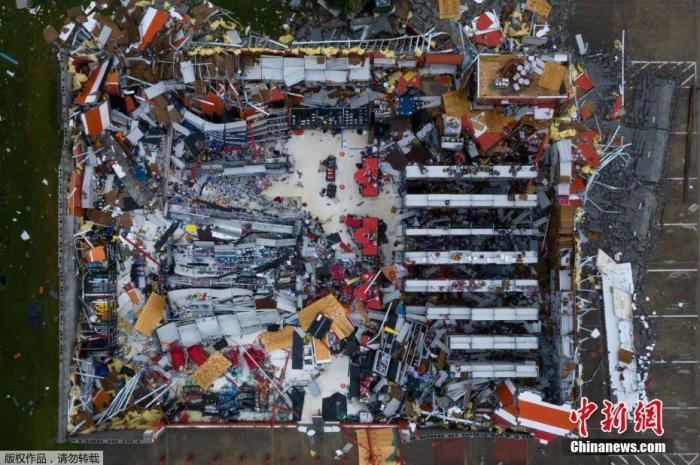 """飓风""""德尔塔""""袭美国或掀大浪 居民面临第6度疏散"""