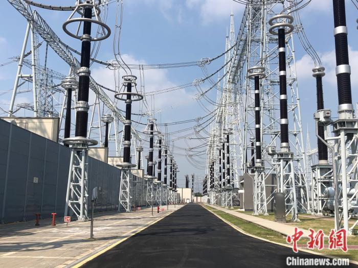 """特高压东吴站,""""钢铁森林""""为工业输送""""氧气"""""""