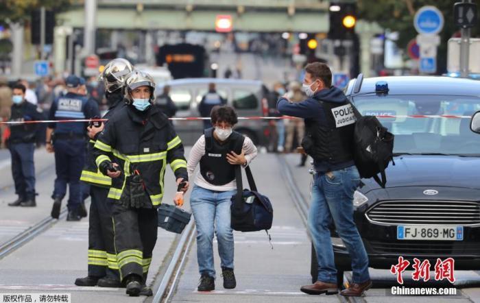 """遭遇疫情与恐袭""""双重危机"""" 法国如何""""两线作战""""?"""