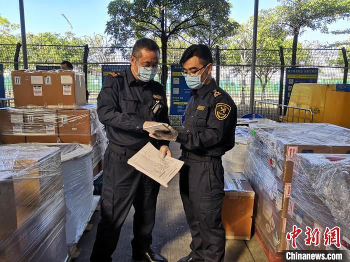 今年以来广州海关在空港货运渠道已检出404批不合格进口危险化学品