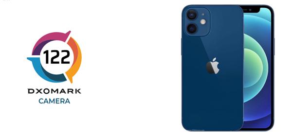 10名开外!DXO公布iPhone 12 mini相机成绩:122 分
