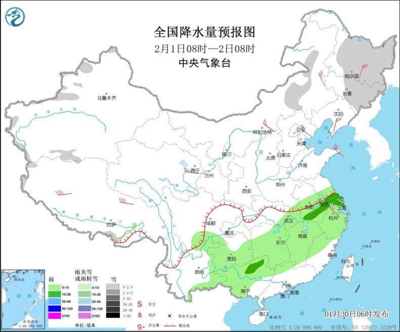 较强冷空气将影响中东部地区 东北地区有明显降雪