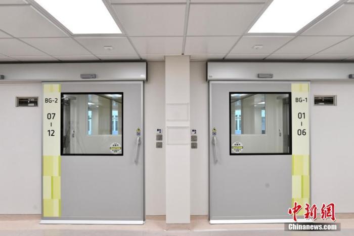 北大屿山医院香港感染控制中心冀本月26日启用