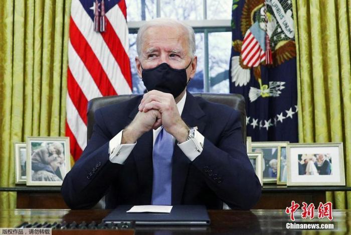 """拜登发表上任后首次外交政策演说 宣称""""美国回来了"""""""
