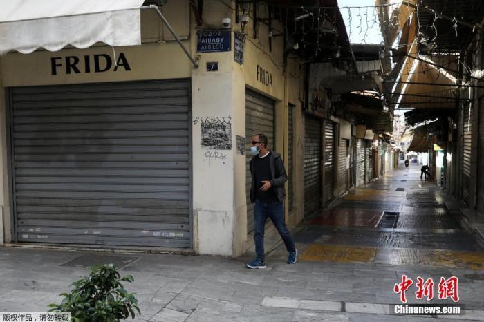 希腊儿童新冠感染病例激增 全国数十所学校关闭