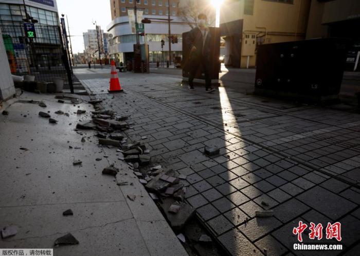 日本福岛地震震级修正为7.3级 已致124人受伤