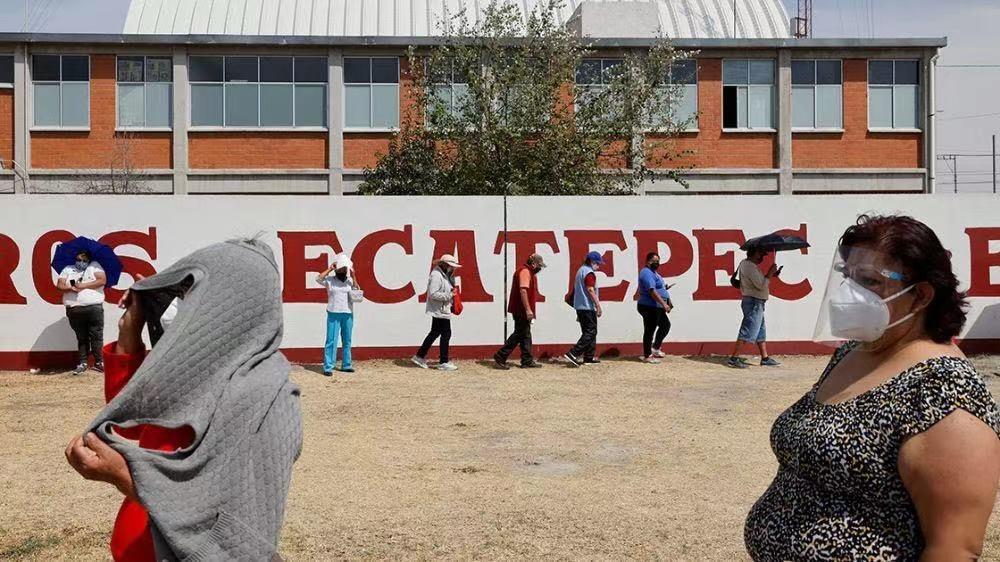 墨西哥埃卡特佩克市开始接种中国新冠疫苗
