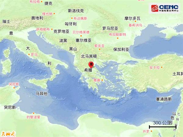 希腊发生6.2级地震:一个诡异的现象出现了