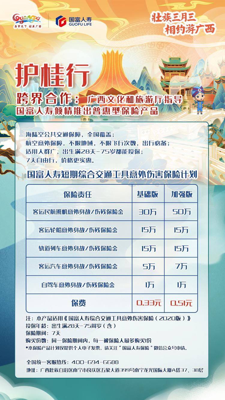 """持续发力普惠金融服务 国富人寿""""护桂行""""守护壮族三月三"""
