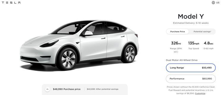 又涨价?美版Model 3和Model Y价格上调