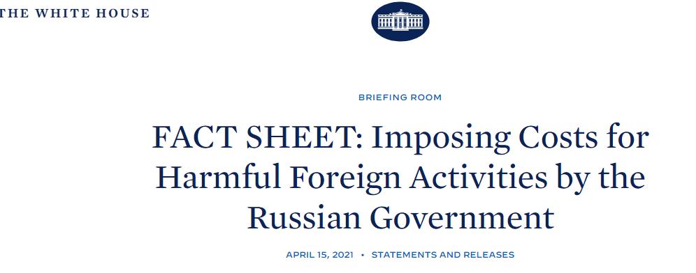 快讯!拜登签署对俄制裁新行政令,涉及32家实体和个人