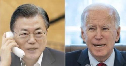 韩媒:文在寅五月下旬访问美国会见拜登 但访问内容和行程待定