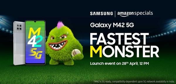 曝三星Galaxy M42将于4月28日发布 搭载骁龙750G
