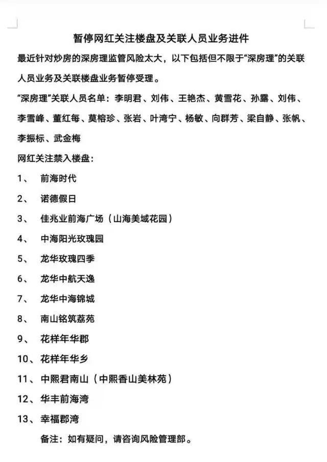 2000亿热钱跑路!深圳房价的最大支撑垮了!