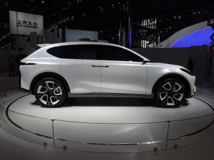 2021上海车展:智己LS7概念车正式亮相