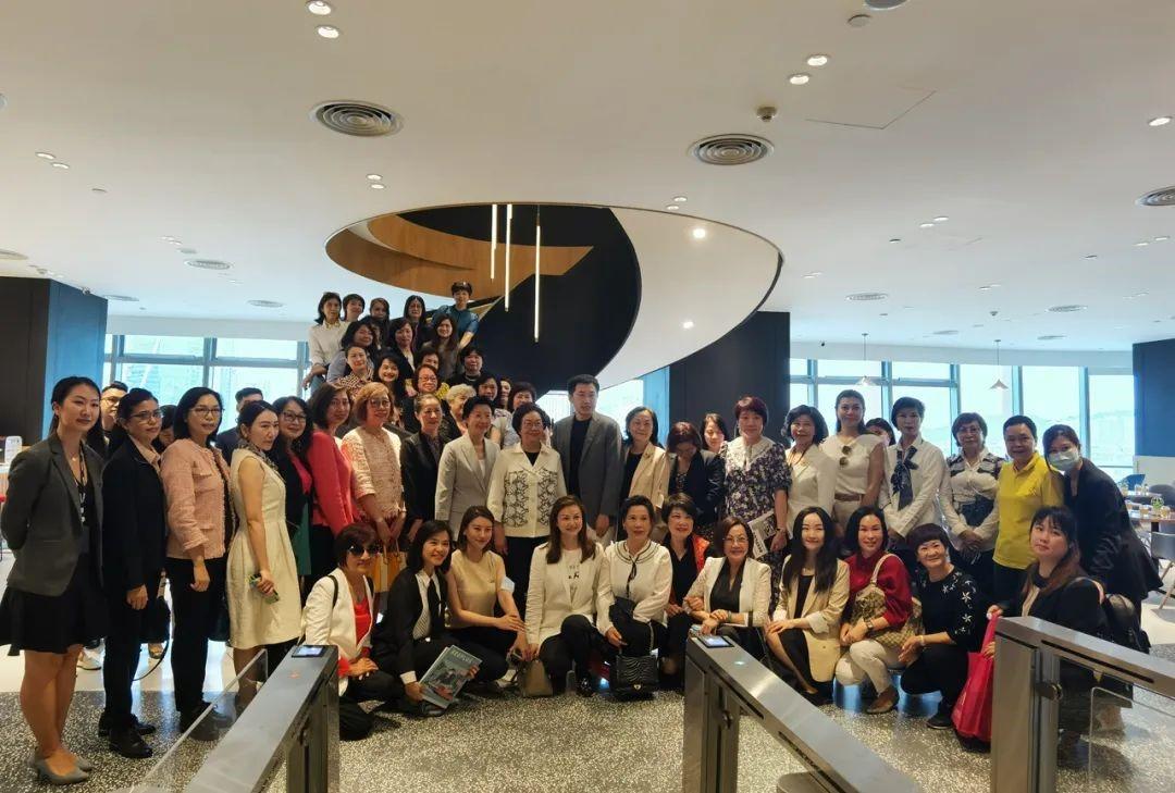 贺定一携珠澳妇联参访BEEPLUS,促进湾区女性合作交流、创新创业