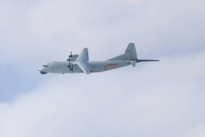 绿媒炒作:解放军军机下午进入台湾西南空域
