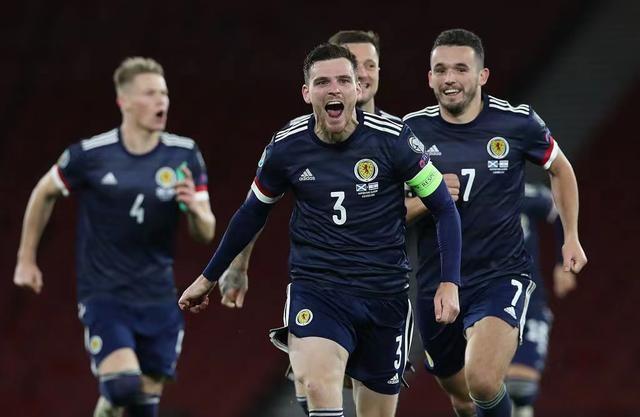 6月19日欧洲杯次轮英格兰VS苏格兰