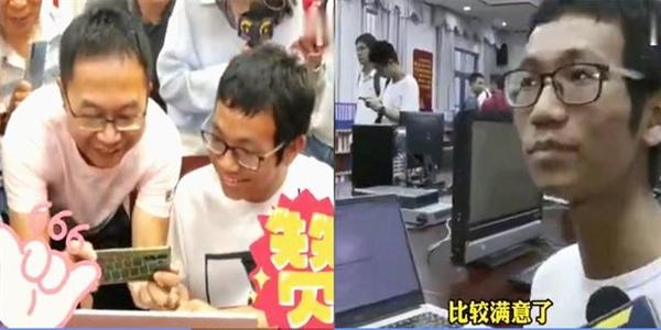 广西723分学霸淡定查分 心态稳如泰山:直言成绩超自己预估