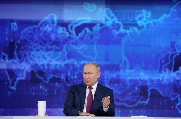 普京痛批英美舰机挑衅 强调西方无法战胜俄罗斯
