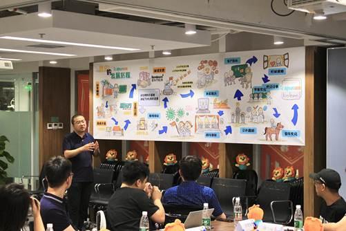培训负责人介绍新东方在线企业文化