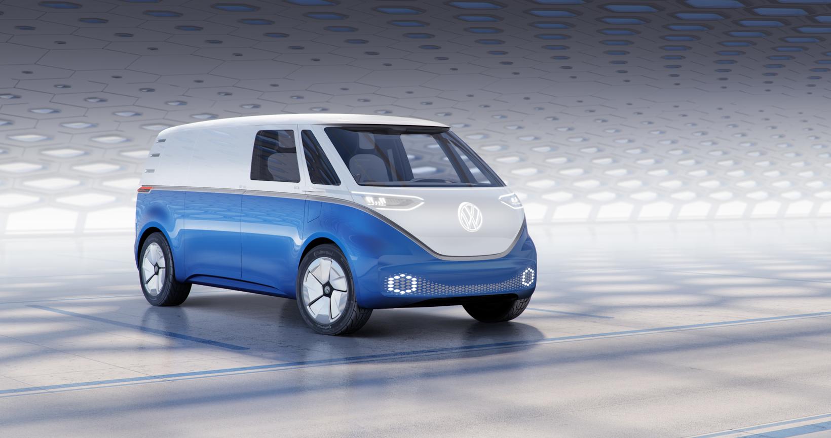 大众计划生产3个版本的ID Buzz电动厢式车