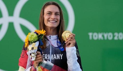 德媒:德国打破沉寂拿到东京奥运首金 选手来自洪水灾区