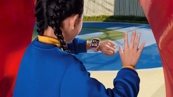 华为儿童手表4 Pro发布:9重AI定位 全天候足迹精准记录