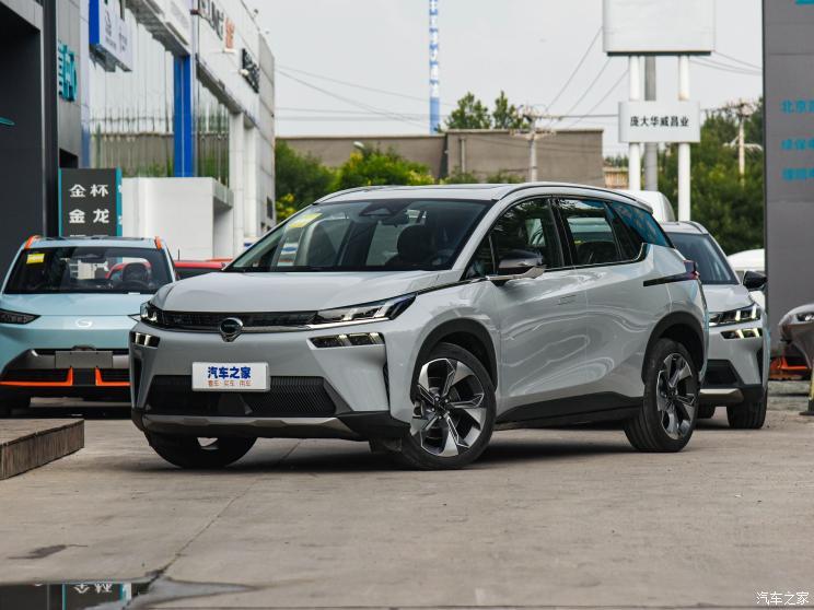广汽埃安公布7月终端销量为10604辆