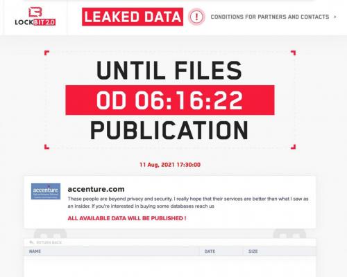 LockBit2.0勒索软件攻击埃森哲 国内企业应加强防范