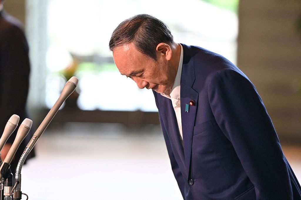 """一夜之间改变想法!菅义伟突然""""弃选""""震惊日本政坛,自民党下任总裁是谁引关注"""