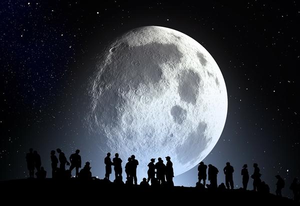 中秋赏月地图出炉:今年十五的月亮十五圆!