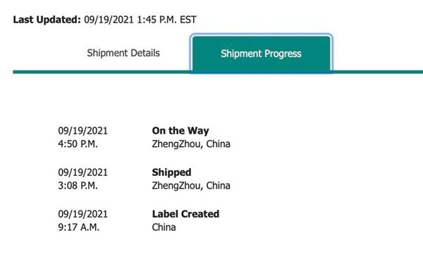 首批iPhone 13已发货:郑州富士康新鲜出炉!正运往美国