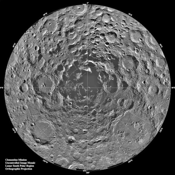 NANS启动VIPER计划:预计于2023年前往月球南极寻找水源
