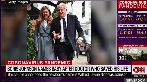 CNN:英国首相首次承认有六个孩子 前妻四个小三一个新婚现任一个