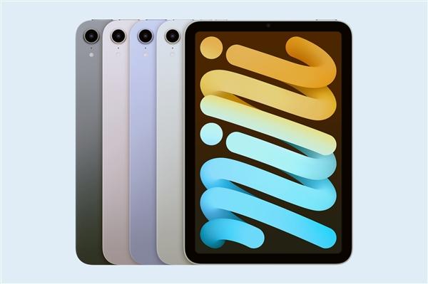 新款iPad今日开卖:iPad mini 6最抢手