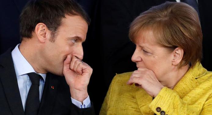 """谁能接替默克尔?""""马克龙时代""""将到来?欧美媒体预测谁将""""领导欧洲"""""""