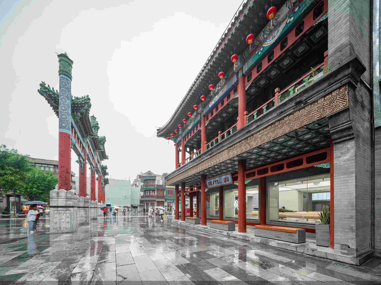 喜茶入驻北京前门大街