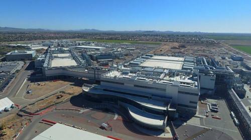 新工厂建成后 英特尔在亚利桑那州投资就将超过500亿美元